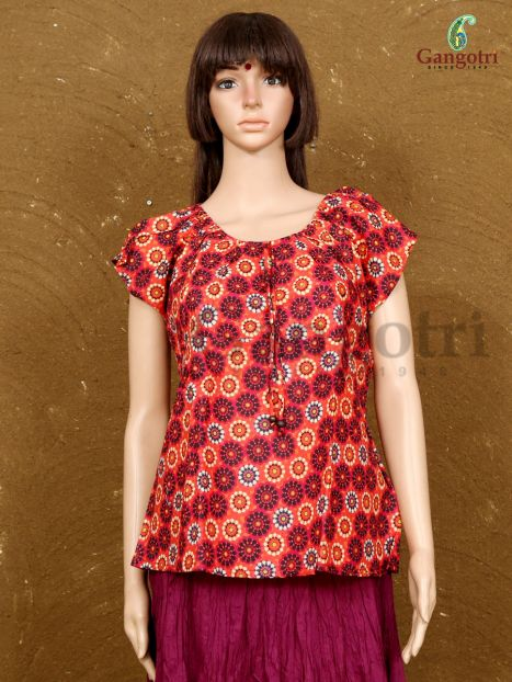 Top Printed Cotton 'Extra Large Size'