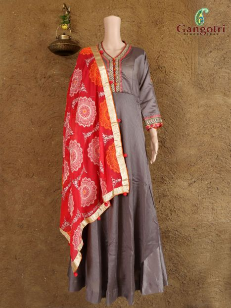 Punjabi Suit Hand Work 'Double Extra Large Size'