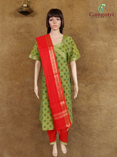 Punjabi Suit South Cotton 'Size - Double Extra Large'