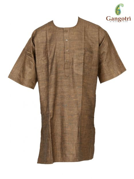 Kurta Cotton Short Sleeves 'Size - Double Extra Large'