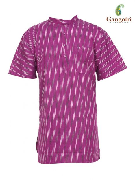Kurta Collar 'XXL' Short Sleeves